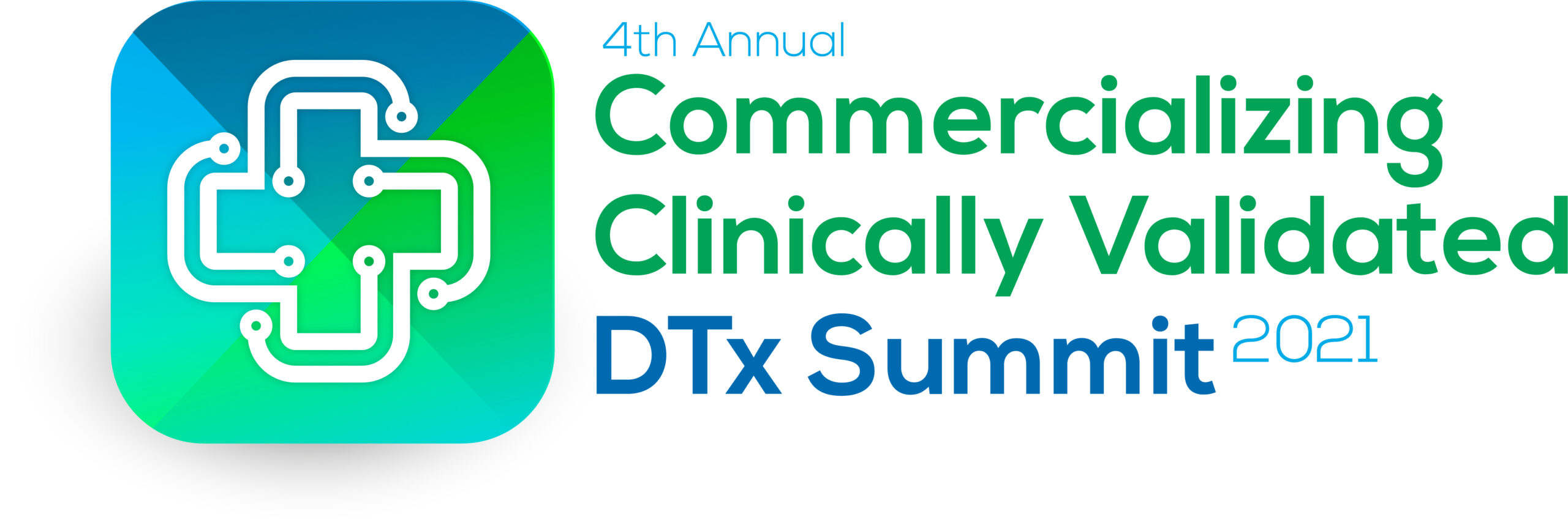 HW2107012 4th Commercializing Clinically Validated DTx Summit 2021 logo FINAL